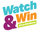 Watch and Win logo